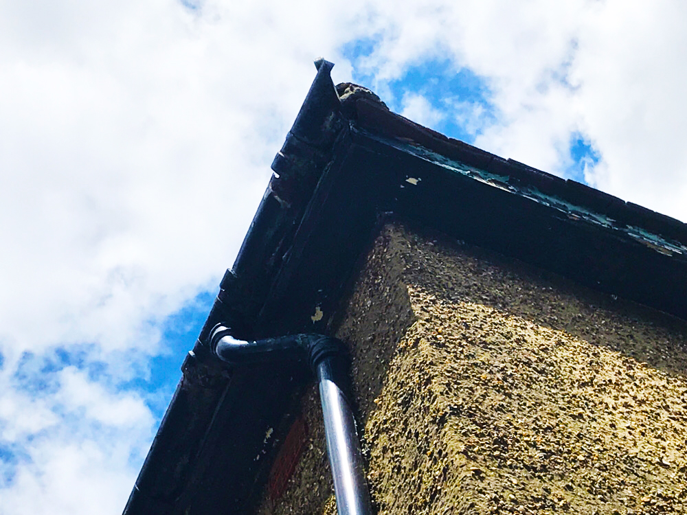 Picture of Missing Guttering